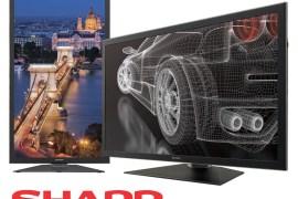 Sharp IGZO technology screens