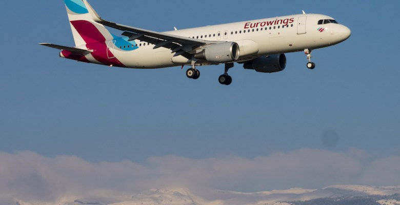 Eurowings Manchester to Salzburg