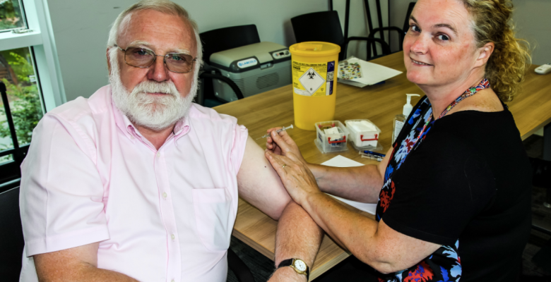 Stockport top spot for flu vaccinations