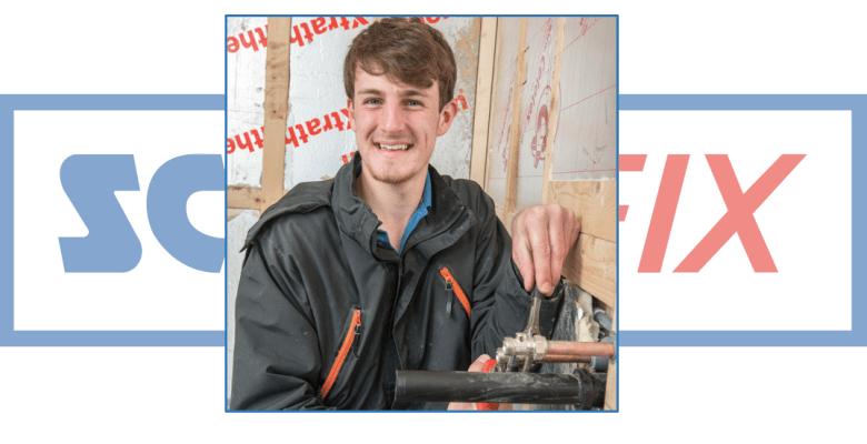 Screwfix Apprentice of the 2017 finalist Alfie Hodges