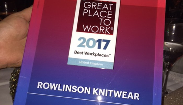 Rowlinson Knitwear - a great workplace