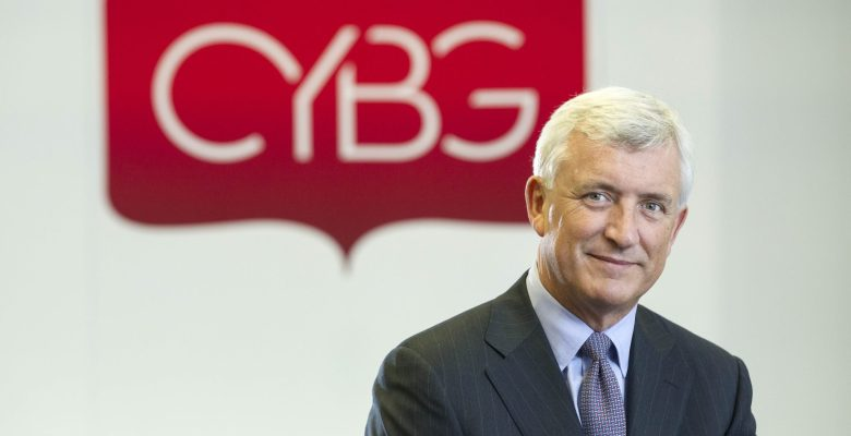 CYBG CEO David Duffy Pic Peter Devlin