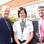 Totally Local's Colin Wright and Chris Palmer with GMP's Emma Taylor