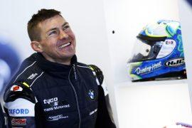 Stockport Superbiker Christian Iddon at Donington