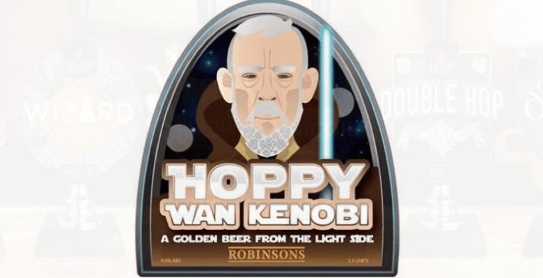 Robinsons latest seasonal ale - Hoppy Wan Kenobi