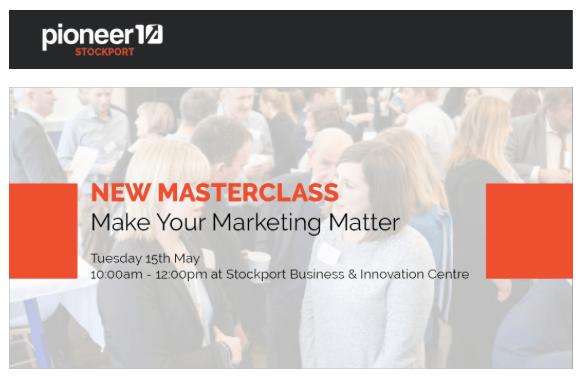 Masterclass in marketing