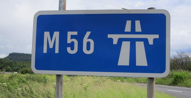 M56 Smart motorway scheme
