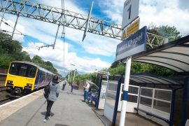 Heaton Chapel is one of the Stockprt stations set to benefit from the funding