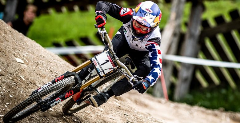 Dutch motocross racer Jeffrey Herlings, Red Bull Factory KTM, a three-time world champion who uses Renthal's handlebars, grips and chain wheels.