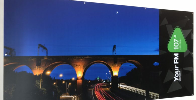YourFM graphics include the iconic viaduct