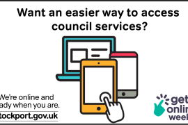 GET ONLINE WEEK Want an easier way to access council services?