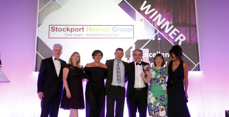 Stockport Homes Group win CSR Award