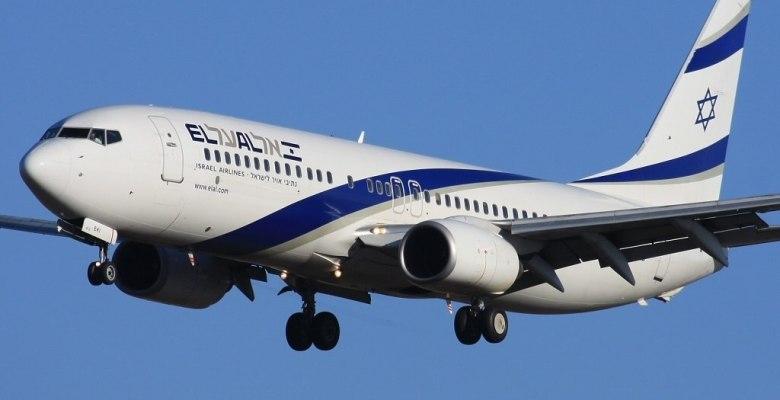 El_Al_Boeing_737-800_Manchester to Tel Aviv