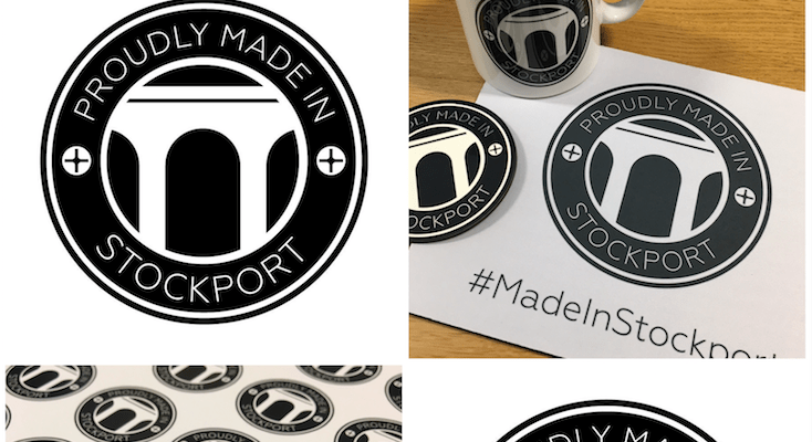 Made in Stockport - wear it with pride
