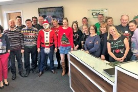 Christmas Jumper Day at C&C