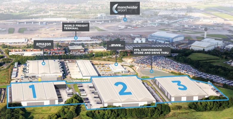 Further development at Manchester Airport planned by Icon Industrial