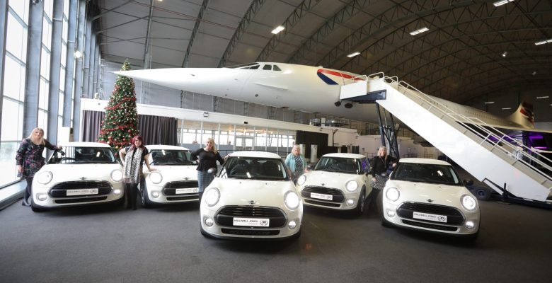MAG-nificent winners of 5 new Minis from Manchester Airport