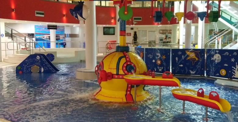 New Splash pool at Grand Central Stockport