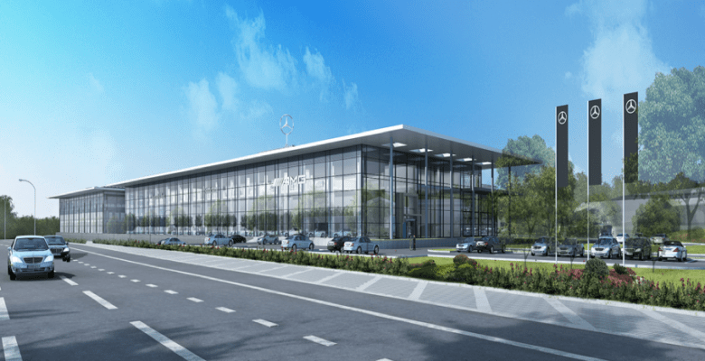 LSH Auto UK - Mercedes Benz Stockport will be Europe's largest MB showroom