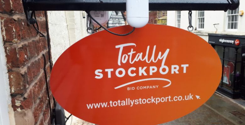 Stockport telephone mobile signal boosted by free town centre wi-fi