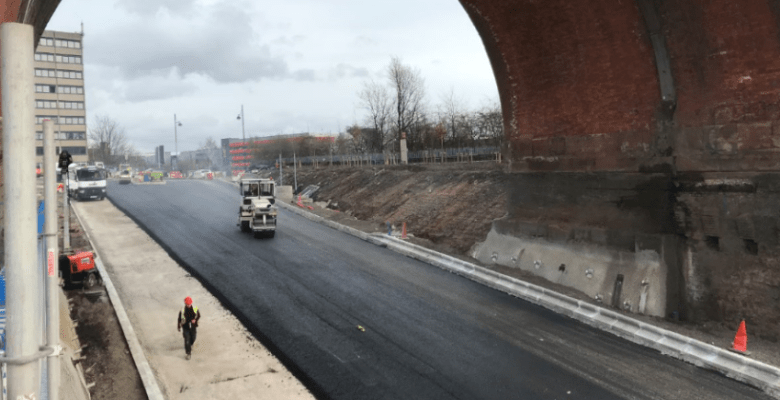 Part of Travis Brow Link road set to open this week