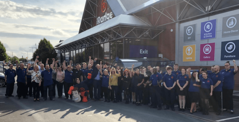 The new Stockport store has created 80 full and part-time jobs. It follows the opening of 12 other stores so far this year