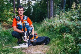People's lottery - Ian and Search Dog Hero