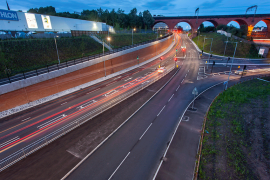 New link road in Stockport