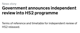 Manchester Airport Group responds to HS2 review by Douglas Oakervee