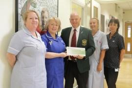 Bobby Moore Unit golf club donation from Marple Golf Club