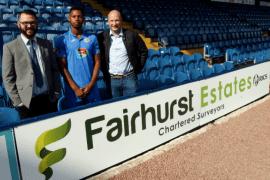 Fairhurst Estates new sponsors at Stockport County