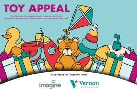 Vernon Building Society Imagine Radio Christmas Toy Appeal