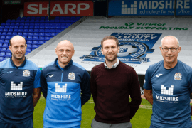 Sharp gives backing to Stockport County
