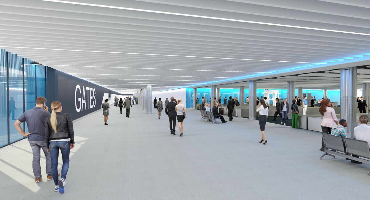 Manchester Airport Terminal 2 Pier Two will have the capability to handle the double-decker A380.