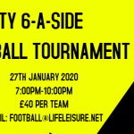 Charity six-a-side football tournament in honour of Martin Harriman