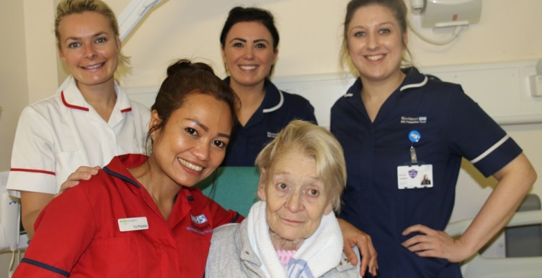 Stockport stroke unit top in country - Ann Moss and team
