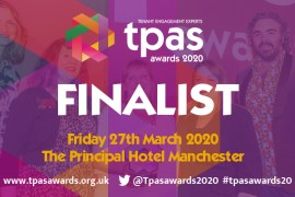Stockport Homes are finalists at 2020 TPAS Awards