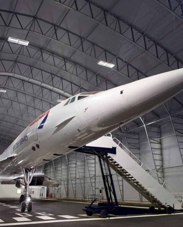 Concorde Platinum tours on offer for Mother's Day at Manchester Airport Runway Visitor Park