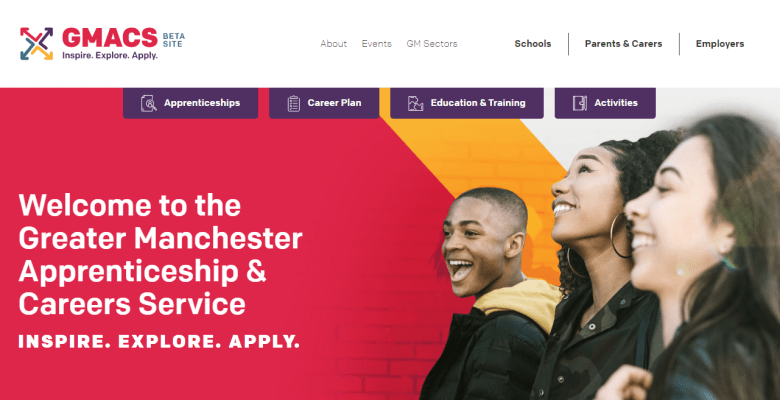 GMACS apprenticeship and careers service launches in Greater Manchester
