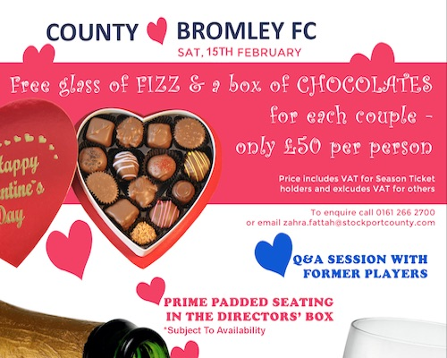 Stockport Valentines Offer