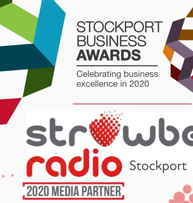 Love is on the air: Stockport Business Awards announce media partnership with Strawberry Radio