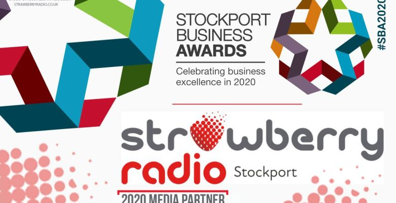 Strawberry Radio announced as media partner for Stockport Business Awards 2020