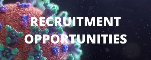 Recruitment opportuities