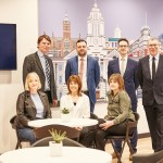 The team at Stockport independent property company, Impey