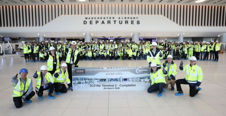Manchester Airport's Terminal Two Extension Handover From Laing O'Rourke March 2020