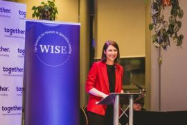 TV star tells women in specialist lending launch: 'It's about making space, not taking space'