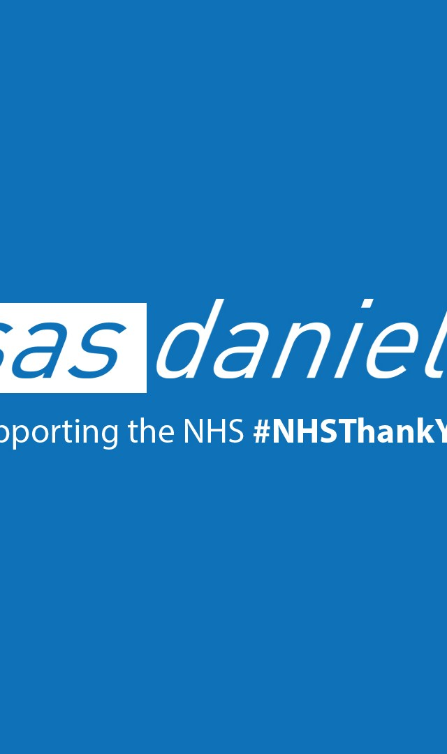 SAS Daniels offers discount to support NHS staff
