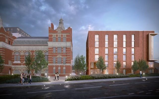 Investar submits plans to develop for urban village on Stockport College campus