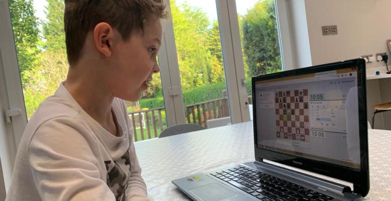 Stockport chess academy shifts teaching online