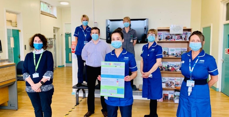 Stepping Hill Cure team